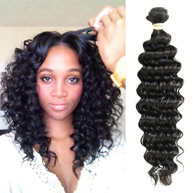Curly Weave Virgin Hair Peruvian Human Hair Weave Bundles Wet And Wavy